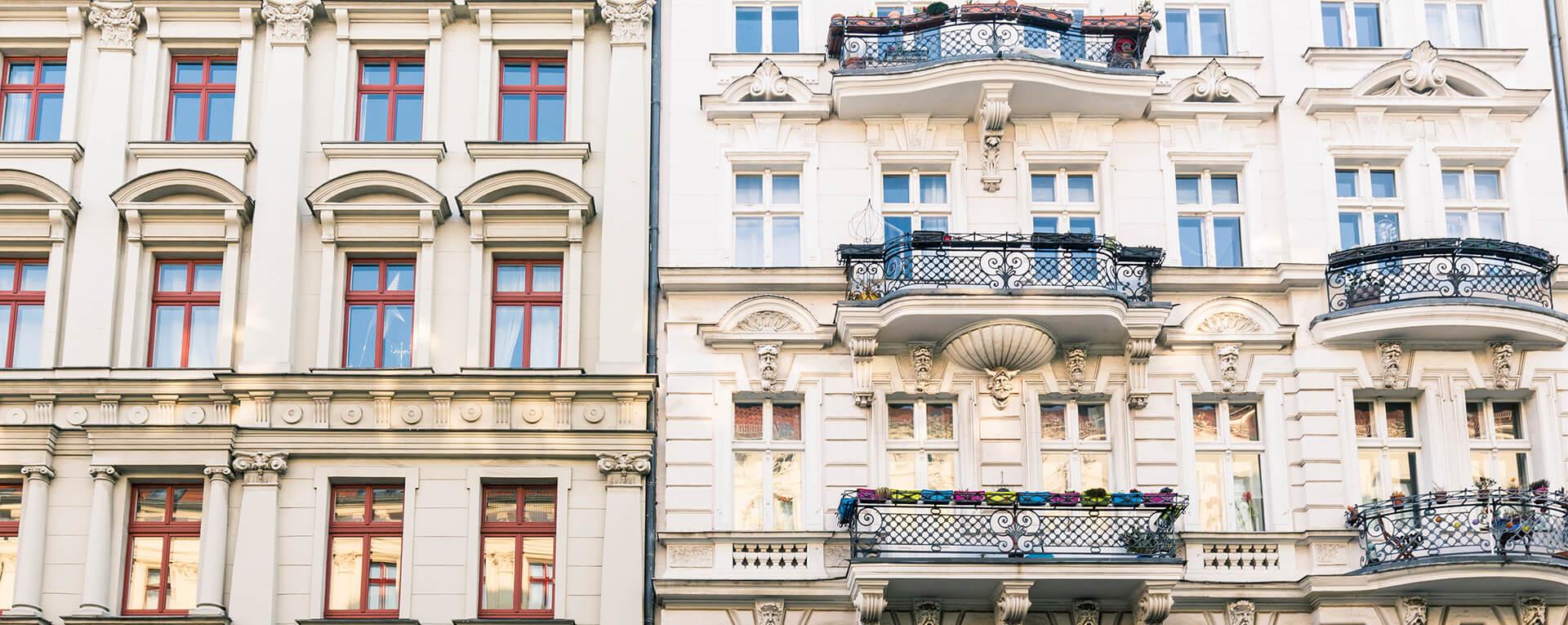 HWG-Verwaltung altes Mehrfamilienhaus
